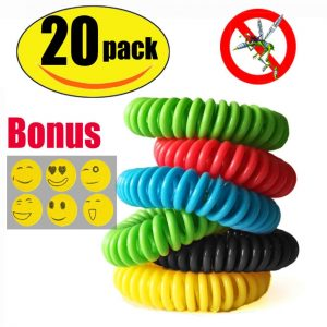 pack of mosquito repellent bracelets